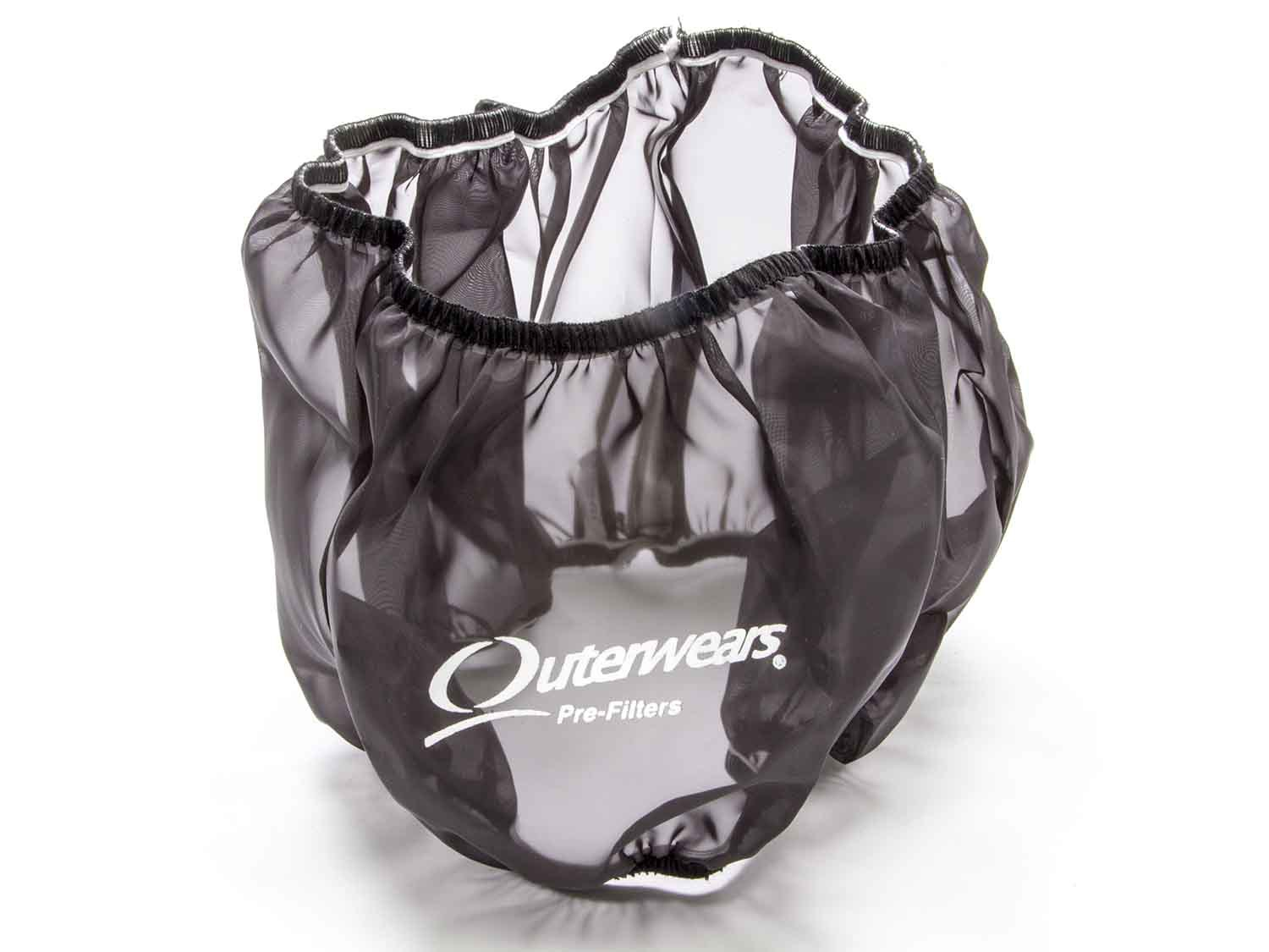 Outerwears 10-1004-01 Air Filter Wrap, Pre Filter, 14 in OD, 5 in Tall, Polyester, Black, Each