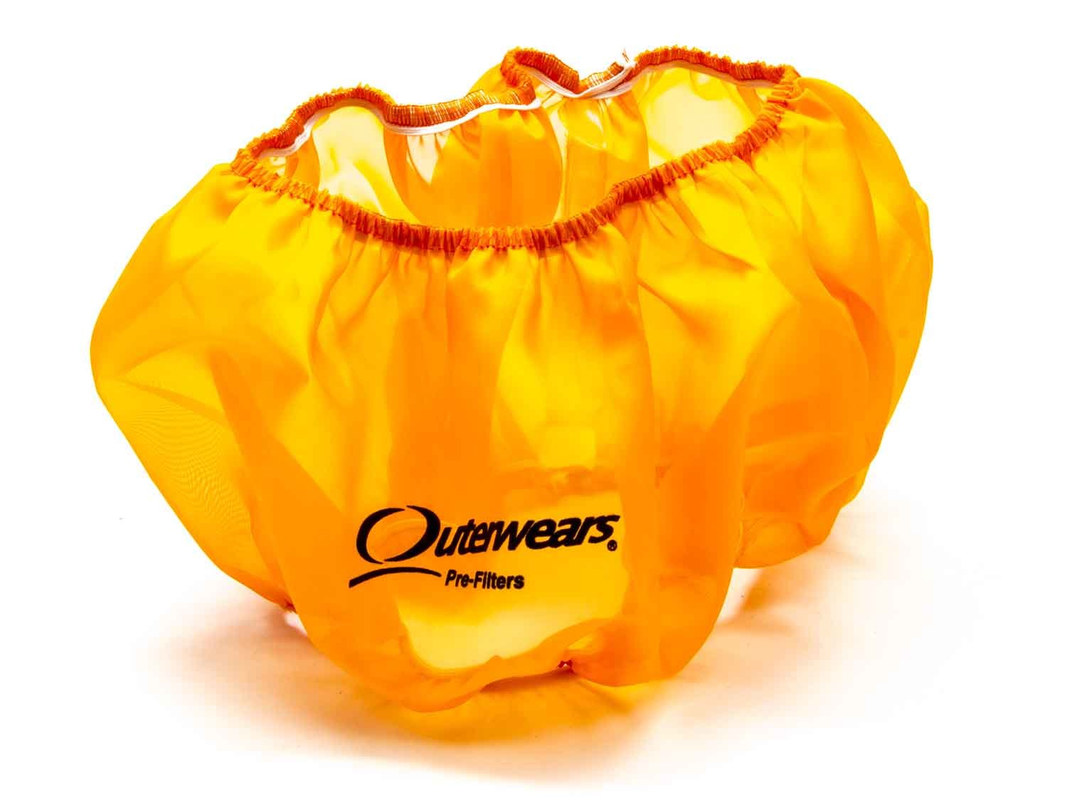 Outerwears 10-1004-05 Air Filter Wrap, Pre Filter, 14 in OD, 5 in Tall, Polyester, Orange, Each