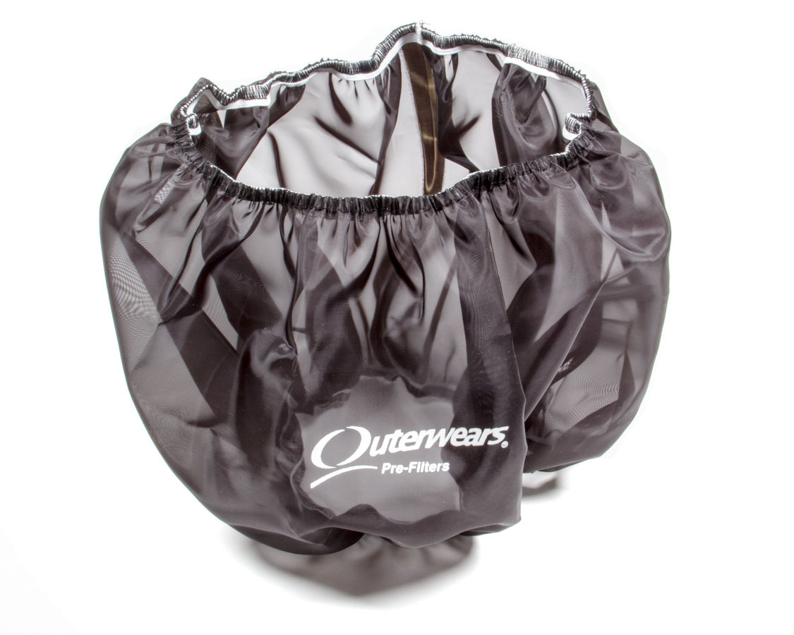 Outerwears 10-2781-01 Air Filter Wrap, Pre Filter, 15 in OD, 6 in Tall, Top, Polyester, Black, Each