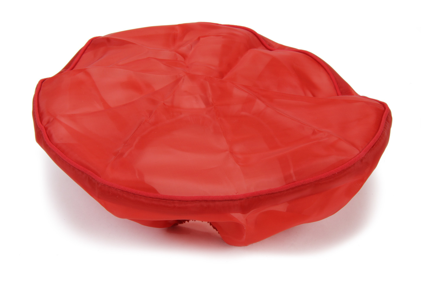 Outerwears 20-1029-03 Funnel Pre Filter, Fuel, Polyester, Red, 9 in Round Funnels, Each