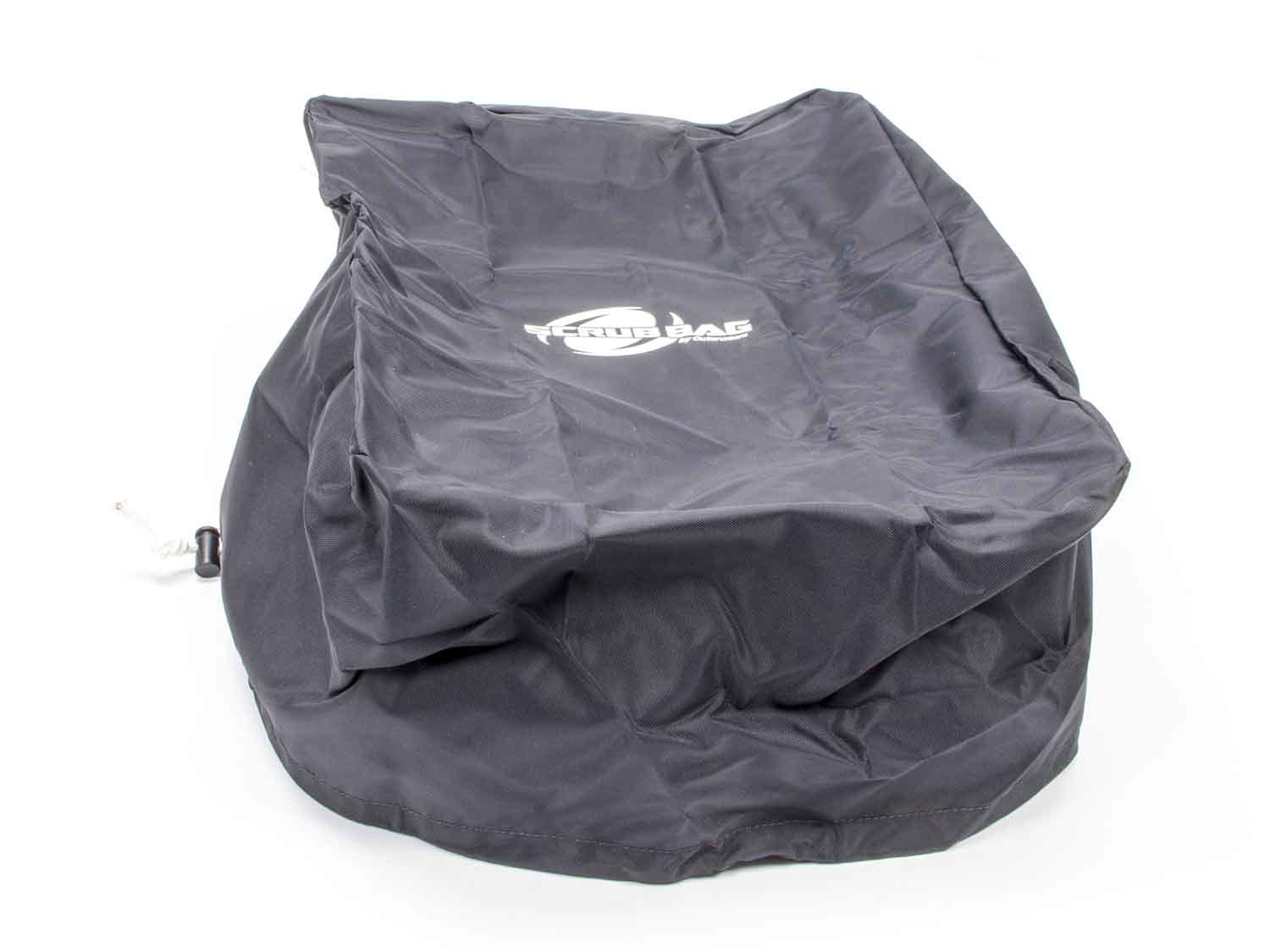 Outerwears 30-1016-01 Scrub Bag, 18-3/4 x 13 in Rectangle, 6-1/4 in Tall, Polyester, Black, Sprint Airboxes, Each