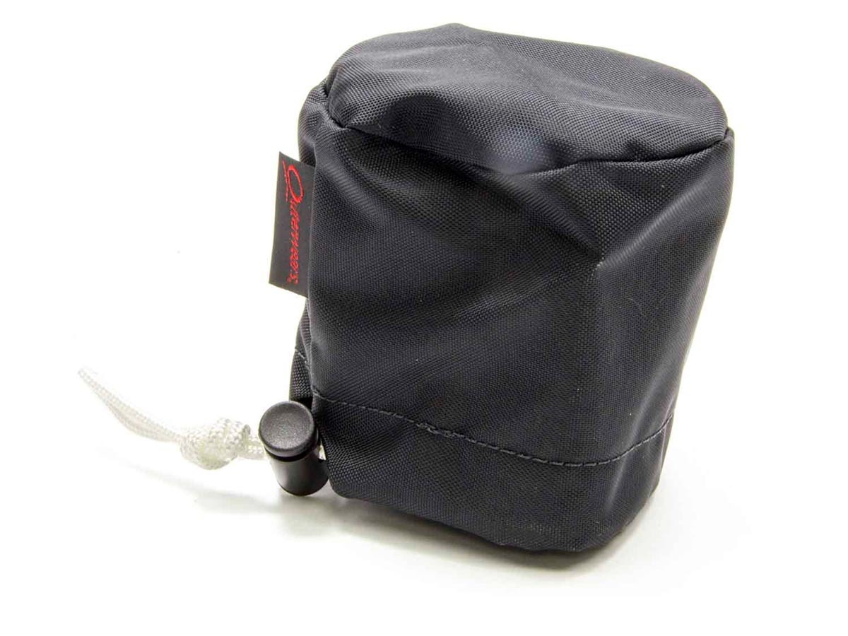 Outerwears 30-1018-01 Scrub Bag, 3 in OD, 2-1/2 in Tall, Polyester, Black, Breathers, Each