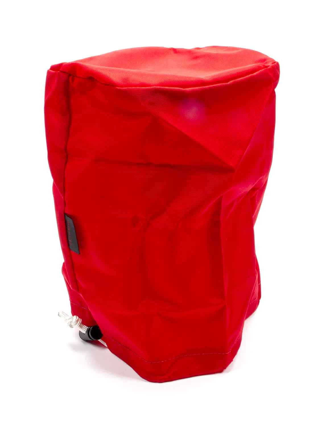 Outerwears 30-1264-03 Scrub Bag, Polyester, Red, Large Cap Magnetos, Each
