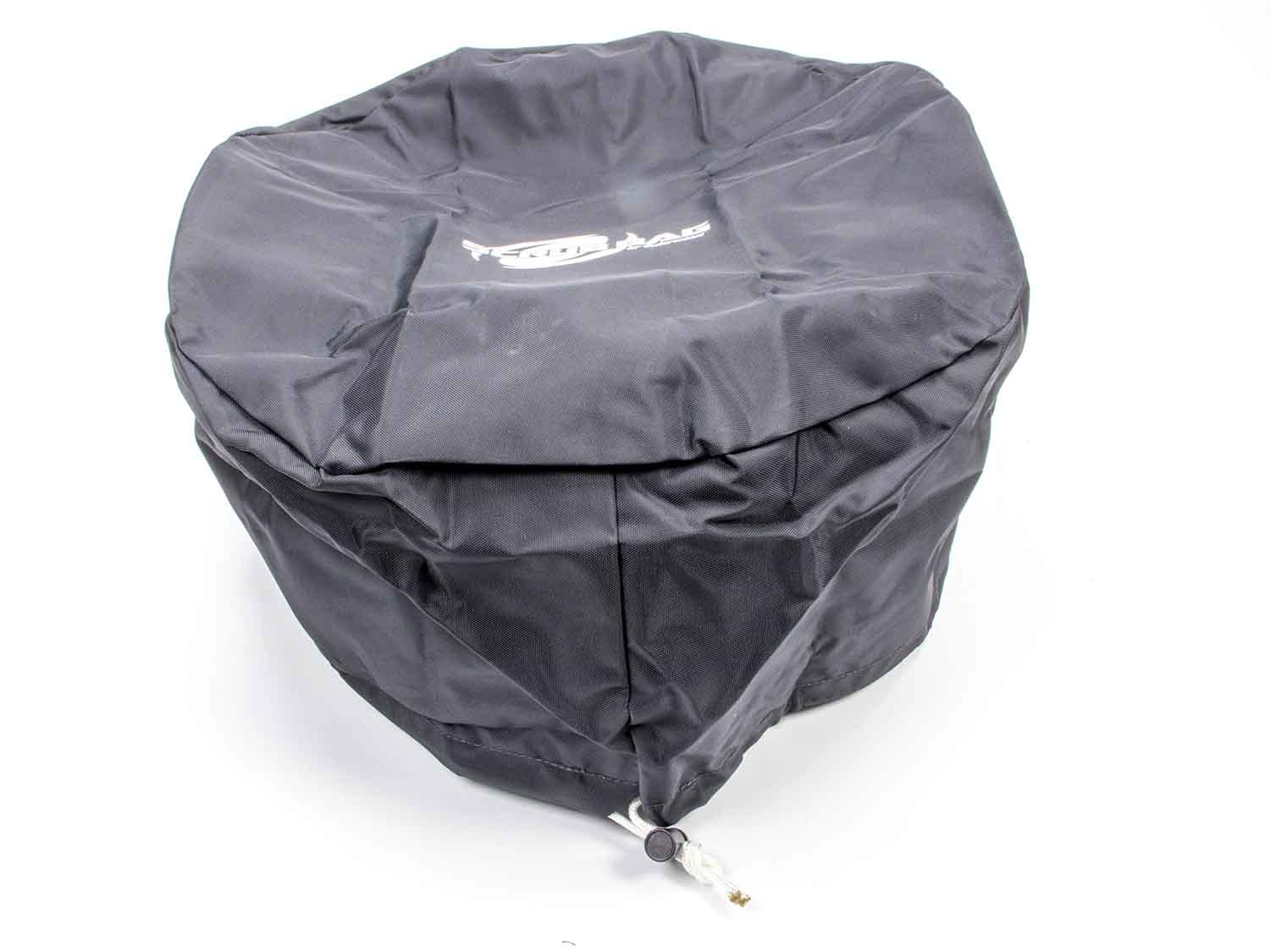 Outerwears 30-2658-01 Scrub Bag, 15 in OD, 6 in Tall, Polyester, Black, R2C 4-6 in Tall Air Filters, Each