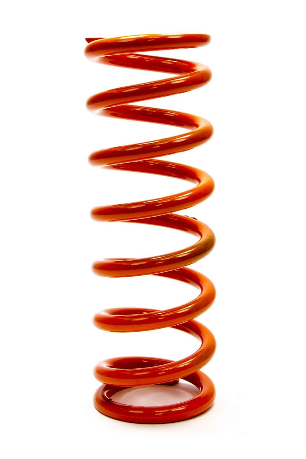 PAC Racing Springs PAC-10X2.5X175 Coil Spring, Coil-Over, 2.500 in ID, 10.000 in Length, 175 lb/in Spring Rate, Orange Powder Coat, Each