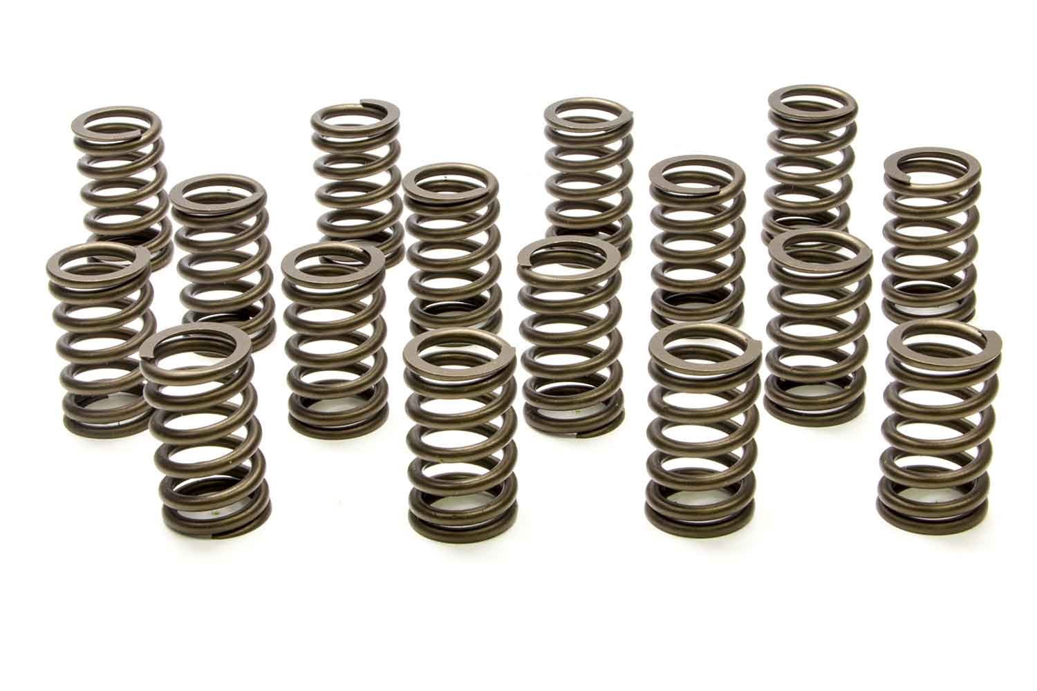PAC Racing Springs PAC-1210X Valve Spring, RPM Series, Single Spring, 290 lb/in Spring Rate, 1.150 in Coil Bind, 1.245 in OD, Small Block Chevy, Set of 16