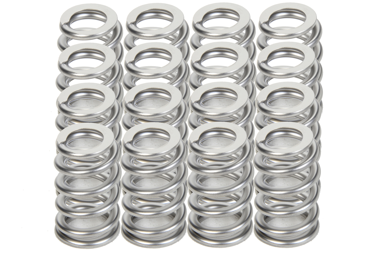 PAC Racing Springs PAC-1223X Valve Spring, 1200 Series, Ovate Beehive Spring, 324 lb/in Spring Rate, 0.900 in Coil Bind, 1.105 in ID, Set of 16