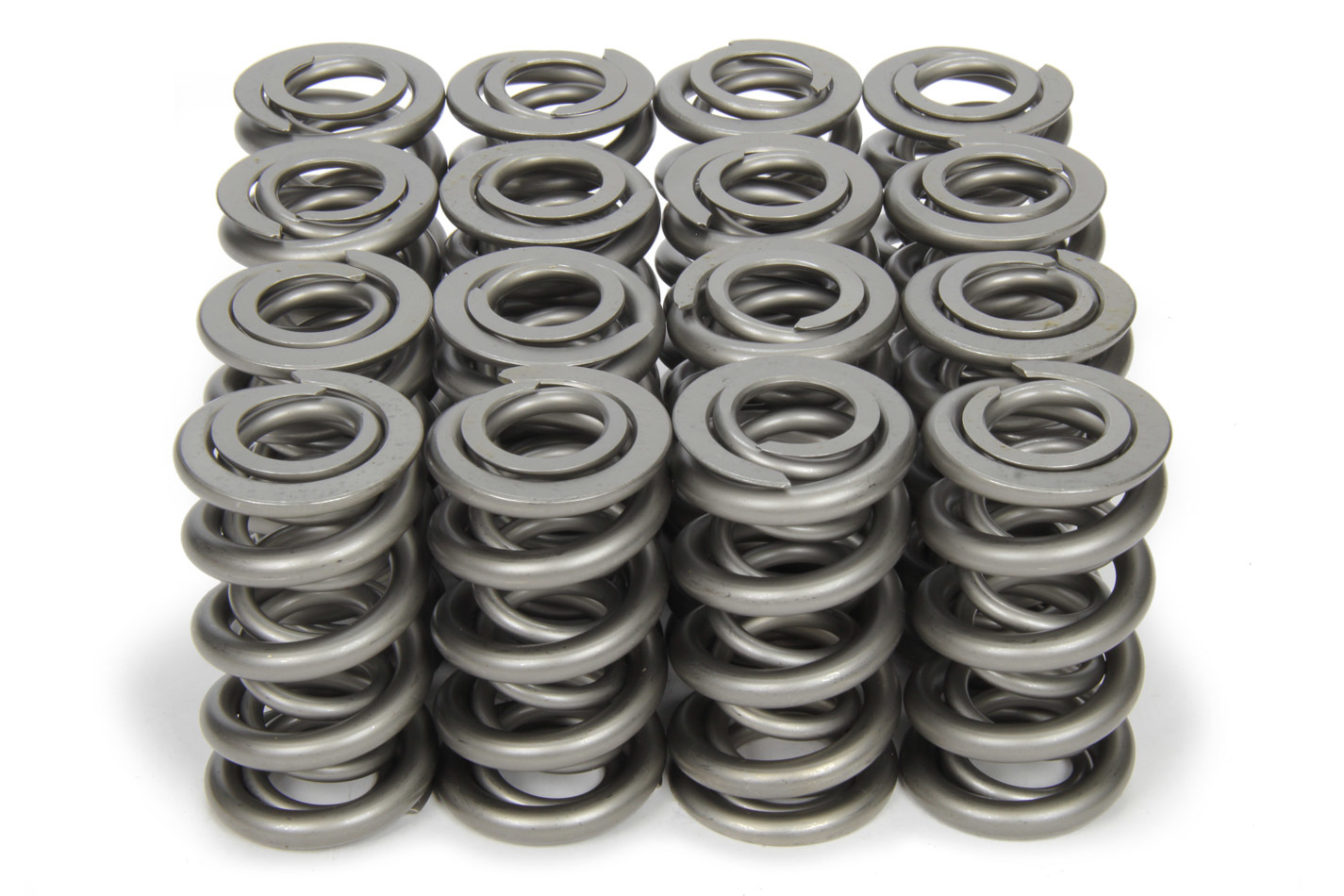 PAC Racing Springs PAC-1354 Valve Spring, 1300 Series, Dual Spring, 1015 lb/in Spring Rate, 1.230 in Coil Bind, 1.550 in OD, Set of 16
