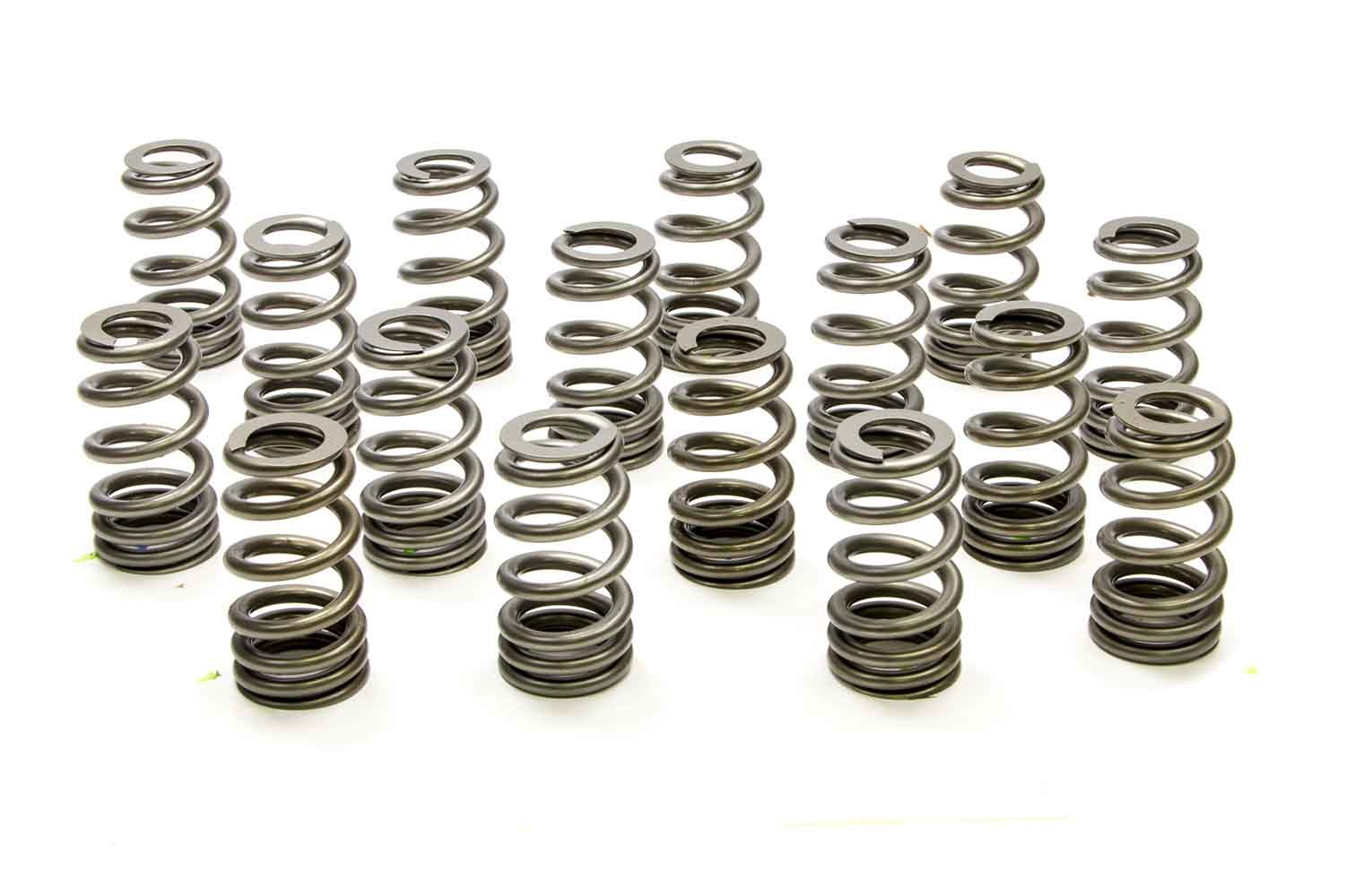 PAC Racing Springs PAC-1409X Valve Spring, 1400 Series Stock Eliminator, Ovate Beehive Spring, 436 lb/in Spring Rate, 1.190 in Coil Bind, 1.250 in OD, Set of 16