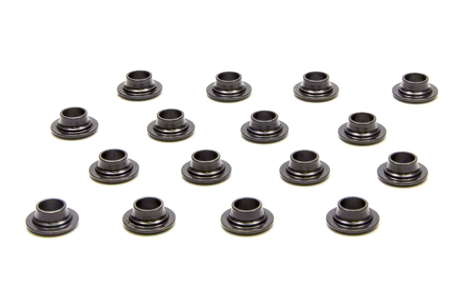 PAC Racing Springs PAC-R333 Valve Spring Retainer, 300 Series, 7 Degree, 0.640 in OD Step, Beehive Spring, Chromoly, Set of 16