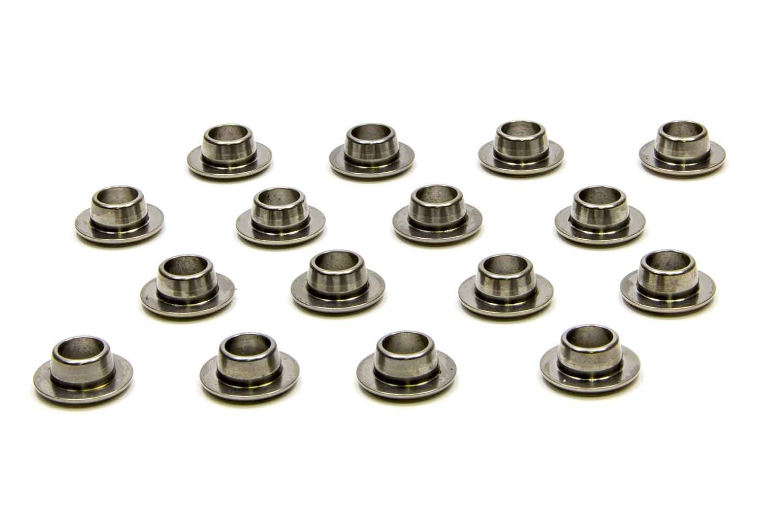 PAC Racing Springs PAC-R510 Valve Spring Retainer, 500 Series, 10 Degree, 0.640 in OD Step, Beehive Spring, Titanium, Set of 16