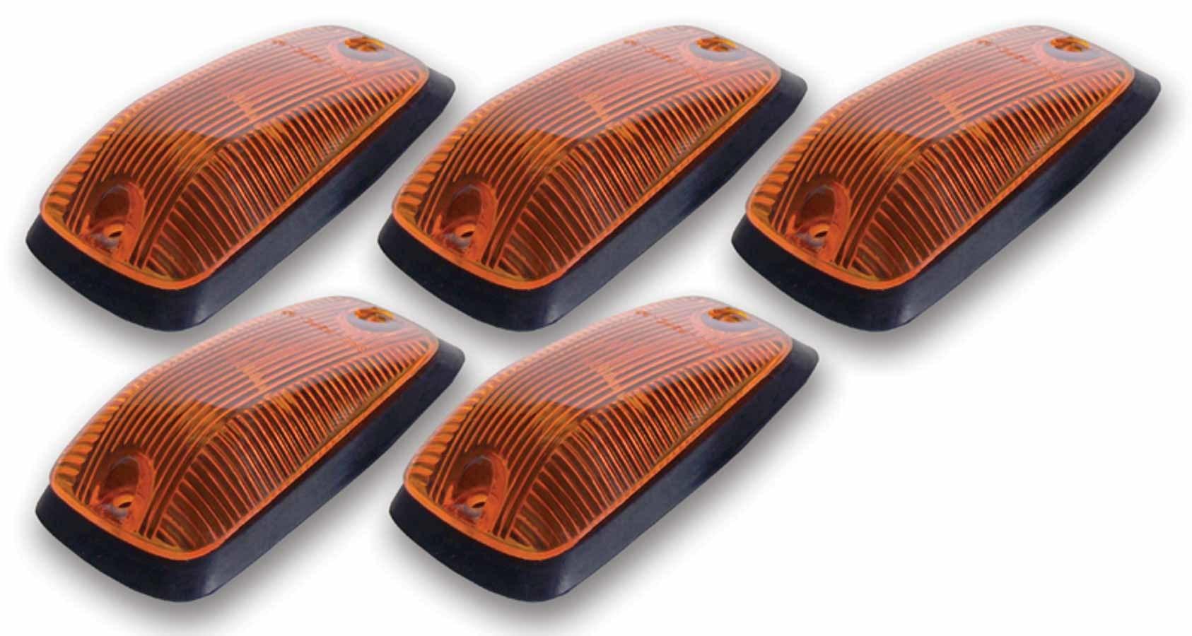 Cab Roof Lights Amber 88-02 GM P/U Non LED