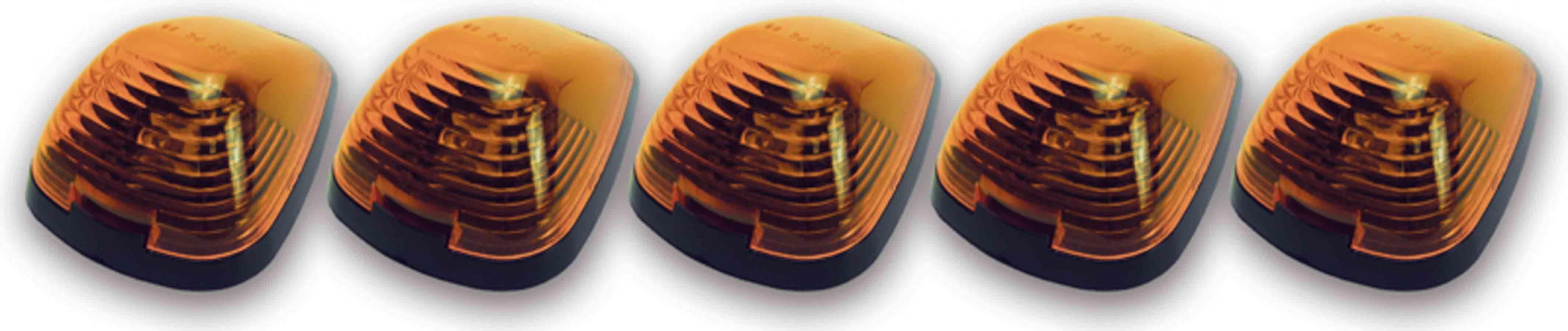 Cab Roof Lights Amber 99-     Ford P/U LED