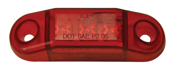 Red 3 LED Sealed Light