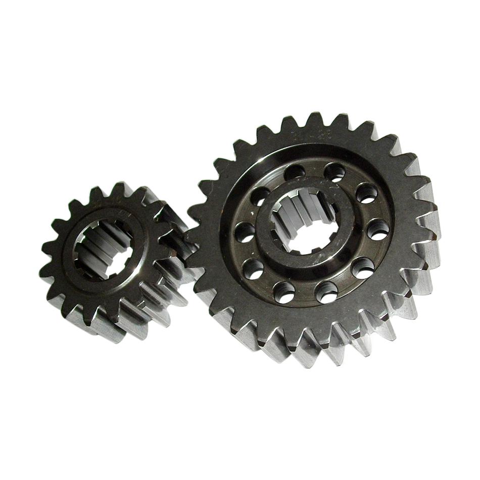 PEM 65014A Quick Change Gear Set, Premium, Set 14A, 10 Spline, 4.11 Ratio 5.75 / 2.94, 4.86 Ratio 6.80 / 3.47, Steel, Each