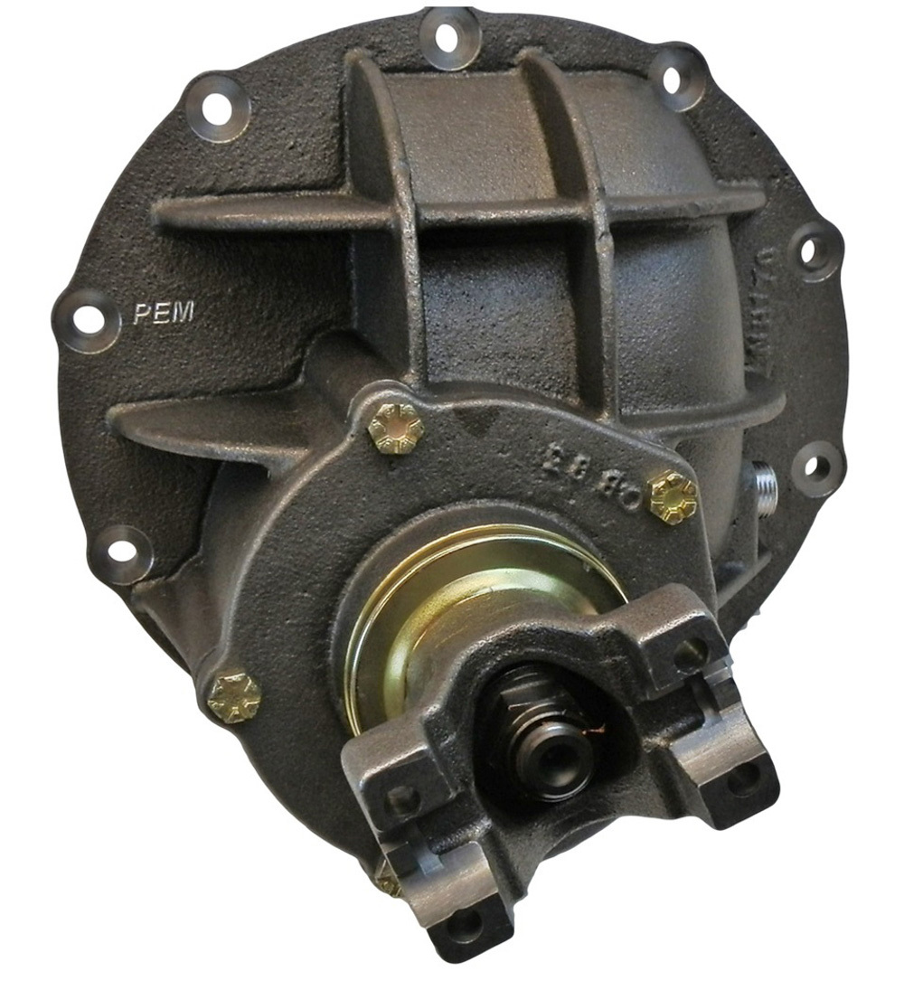 PEM CSFS65031 Differential Case, Assembled, 6.50 Ratio, 31 Spline, Steel Spool, Natural, Ford 9 in, Each