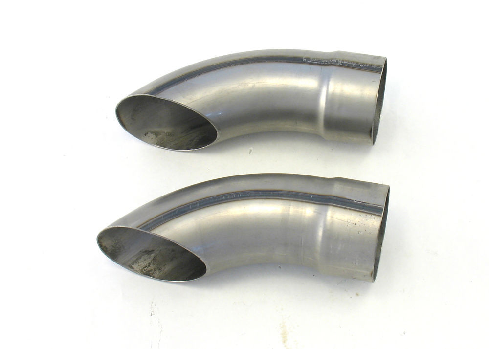 Exhaust Turnouts - 3-1/2in x  9in Long