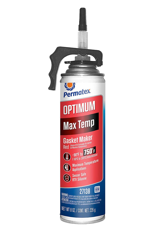 Permatex 27138 Optimum Red Max Temperat ure Power Bead 8oz