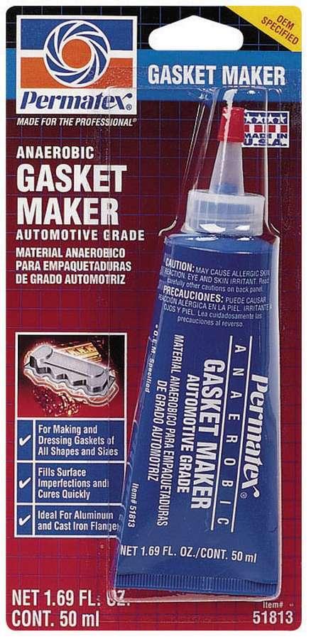 Permatex 51813 Sealant, High Temperature Anaerobic, Anaerobic, 50 ml Tube, Each