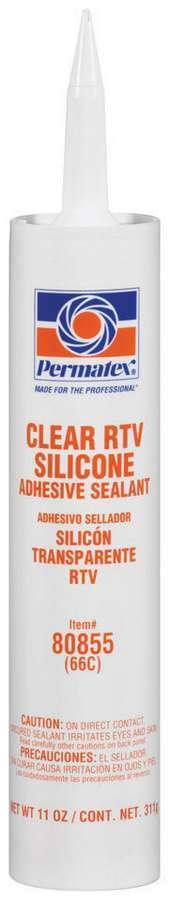 Clear Silicone 11 Oz