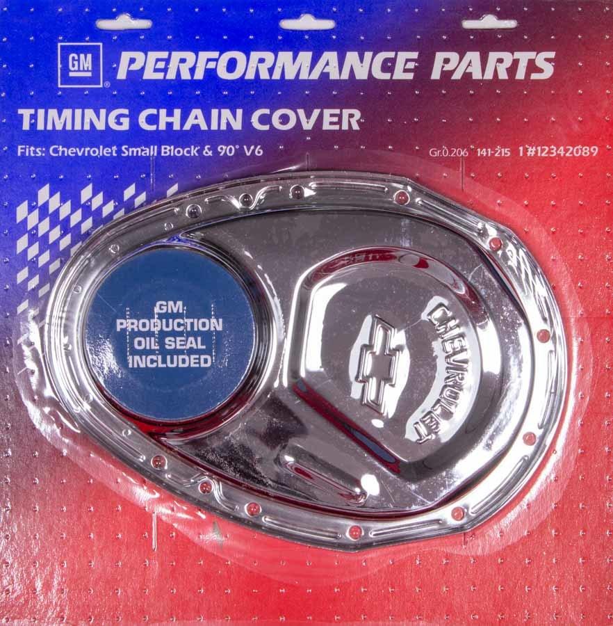 69-91 SBC Chrome Timing Cover