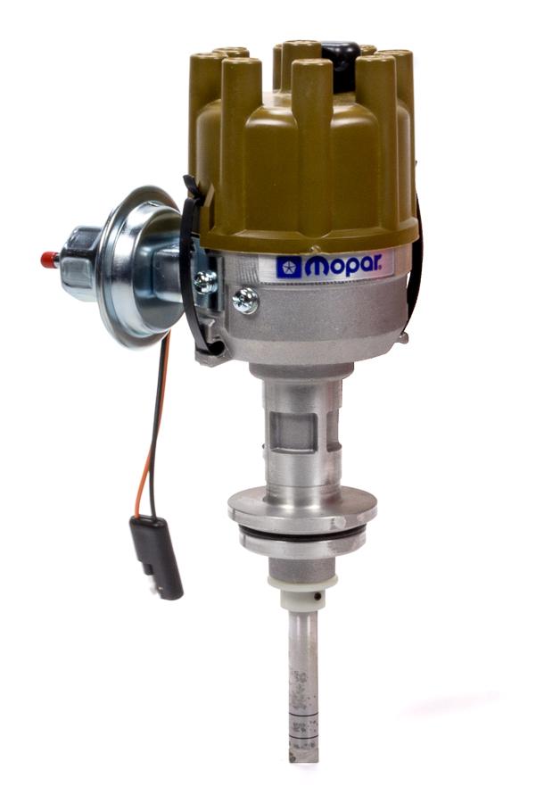 Proform 440-432 Distributor, Magnetic Pickup, Mechanical / Vacuum, Female Socket Style, Tan, Mopar RB-Series / Hemi, Each