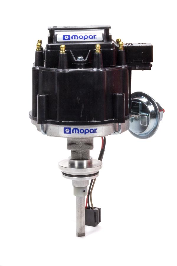 Proform 440-434 Distributor, Magnetic Pickup, Mechanical / Vacuum, Female Socket Style, Black, Small Block Mopar, Each