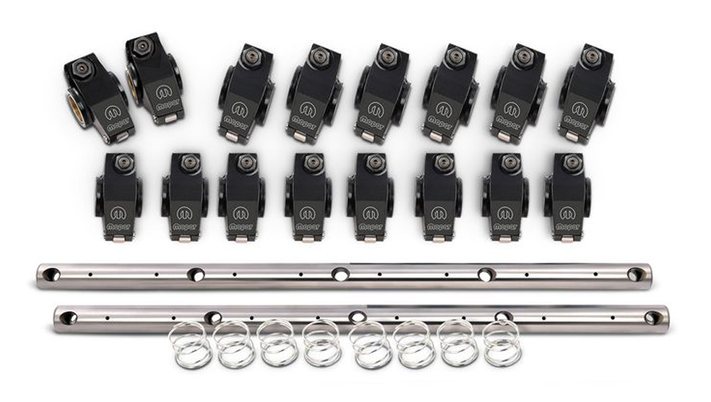 Proform 440-868 Rocker Arm, Roller Rockers, 1.50 Ratio, Shafts / Hardware Included, Aluminum, Big Block Mopar, Set of 16