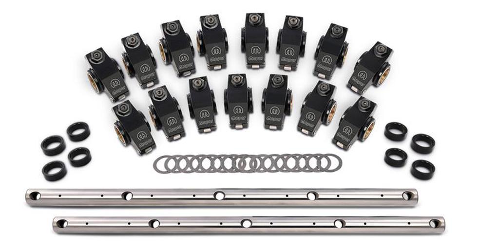 Proform 440-869 Rocker Arm, Roller Rockers, 1.50 Ratio, Shafts / Hardware Included, Aluminum, Small Block Mopar, Set of 16