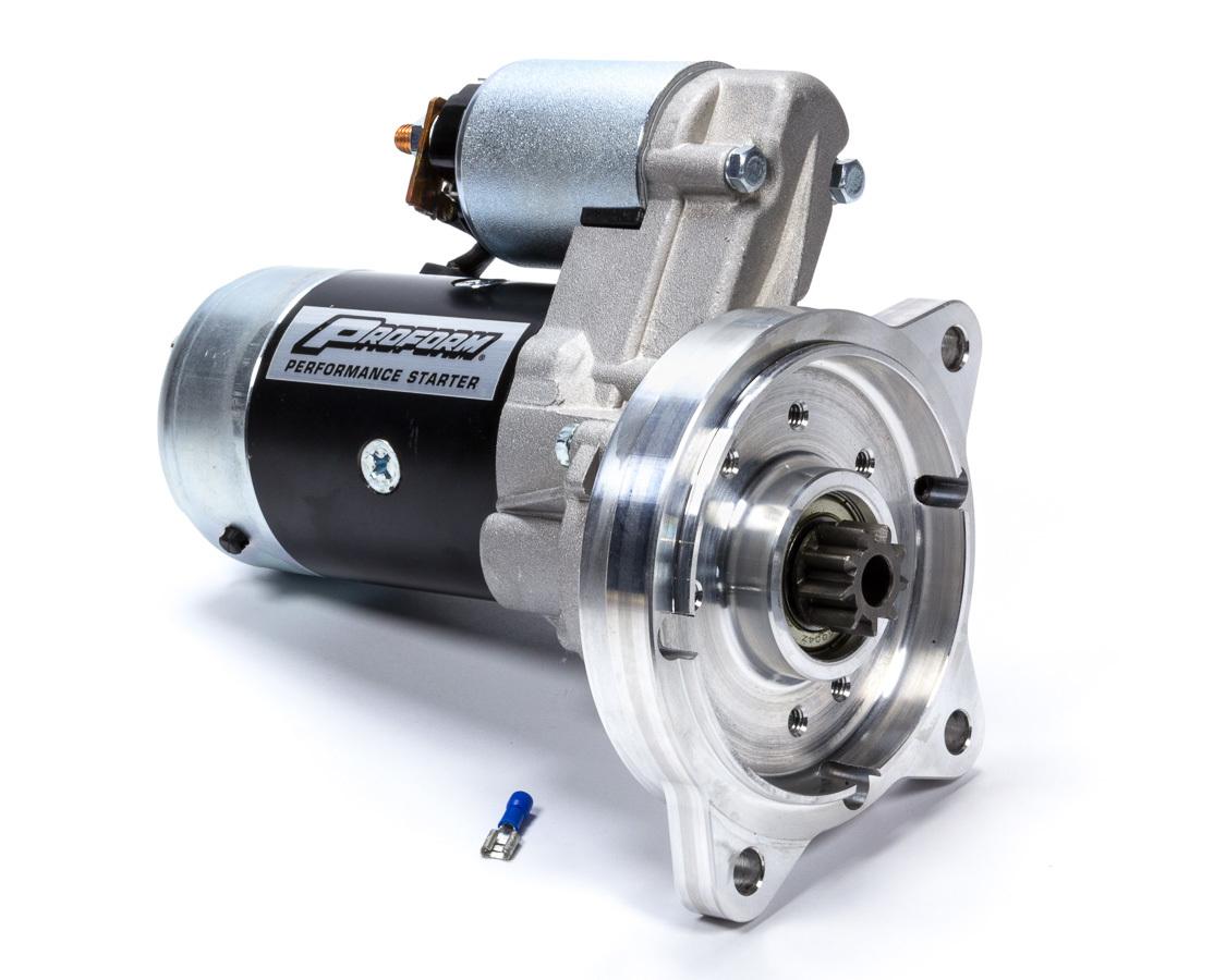 Proform 66275 Starter, High-Torque, 3.75:1 Gear Reduction, Adjustable Block, Black, Automatic Transmission, Ford V8, Each