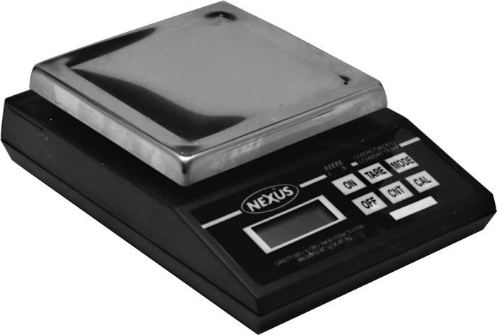 Proform 66466 Scale, Digital, 2000 g Capacity, 1.0 g Increments, Battery / 9V Powered, Engine Balancing, Each