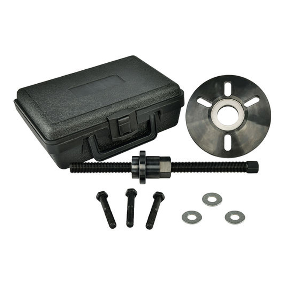 Proform 66518 Harmonic Balancer Installation and Removal Tool, Multiple Adapters, Storage Case, Steel, GM LS-Series, Kit