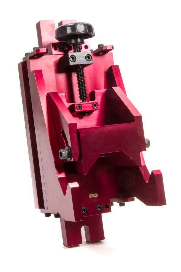 Proform 66772 Piston Vise, Heavy Duty, Adjustable, Aluminum, Red Anodized, Pistons up to 4.5 in, Each
