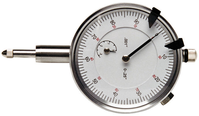 Proform 66962 Dial Indicator, 1 in Travel, 0.001 in Increments, Each
