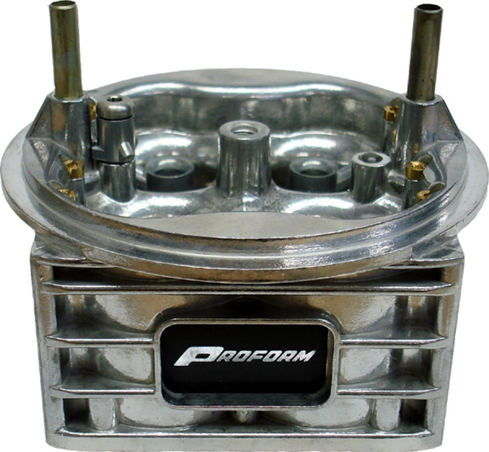 Proform 67101C Carburetor Main Body, Converts Street Carb to Performance Carb, Aluminum, Silver, Holley 750 CFM Vacuum Secondary 4150 Carburetors, Kit