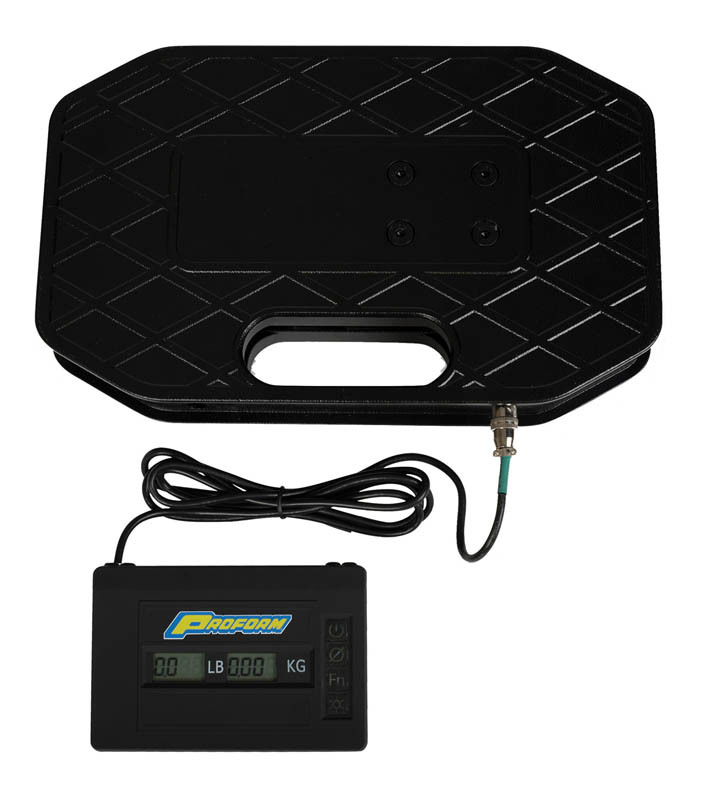 Proform 67646 Scale, Digital, 400 lb, 0.1 lb Increments, Battery Powered, Universal, Each