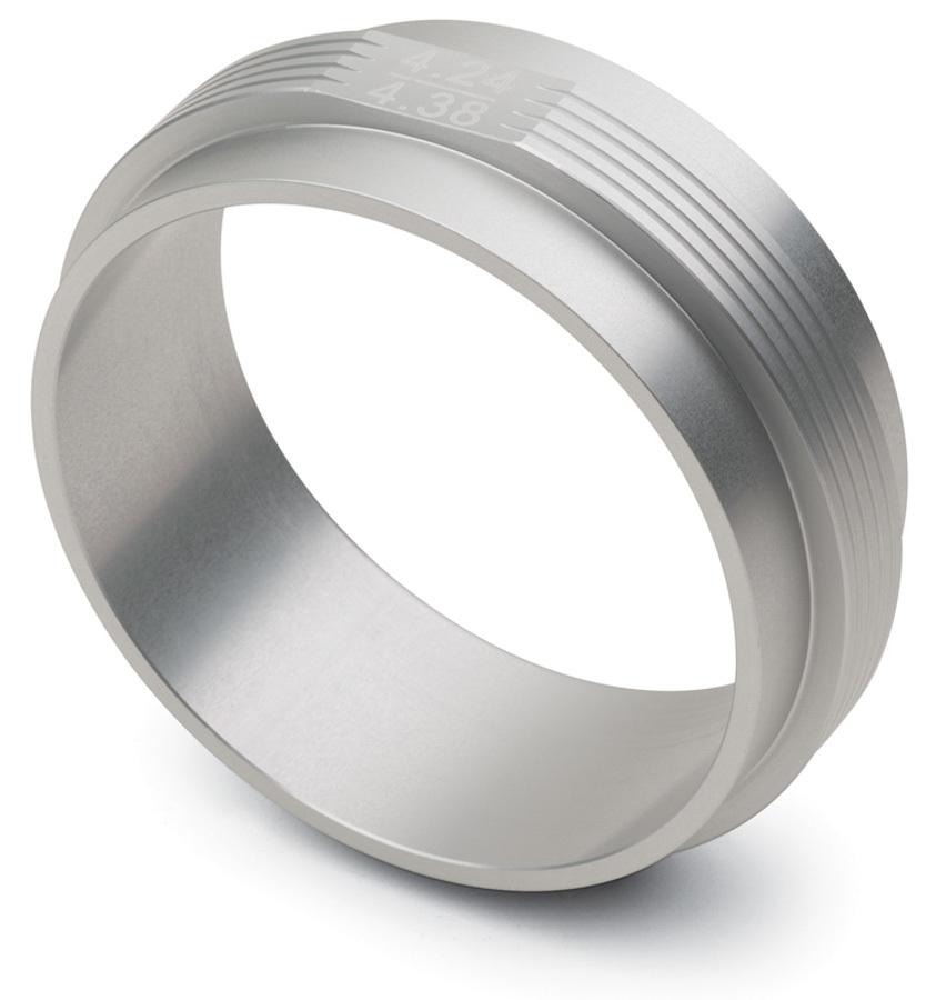 Proform 67654 Piston Ring Squaring Tool, Billet Aluminum, Natural, 4.240-4.380 in Bores, Each