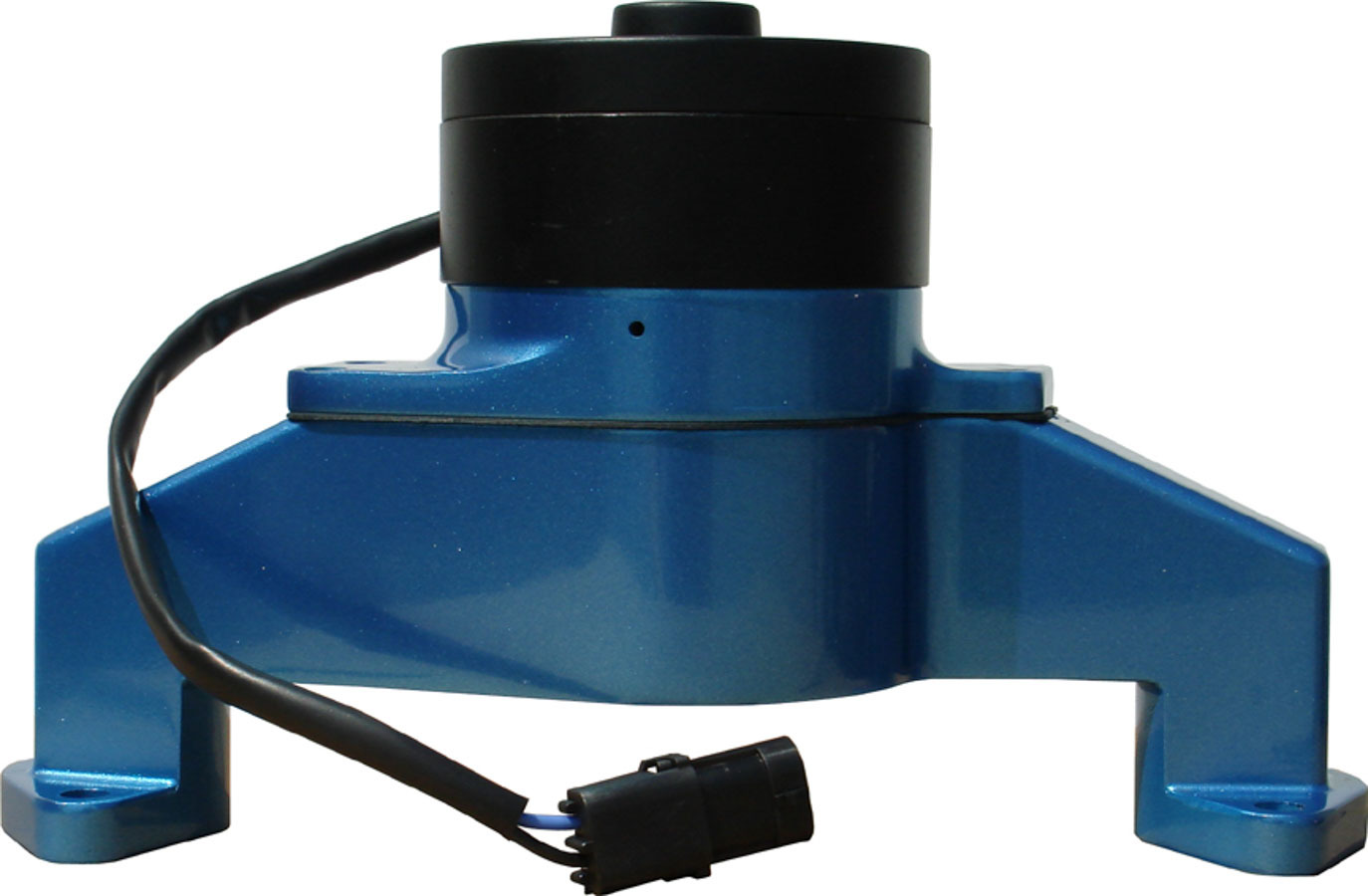 Proform 68230B Water Pump, Electric, 1 in NPT Female Inlet, Adapter / Gaskets / Hardware, 6.000 in Height, Billet Aluminum, Blue Powder Coat, Big Block Chevy, Kit