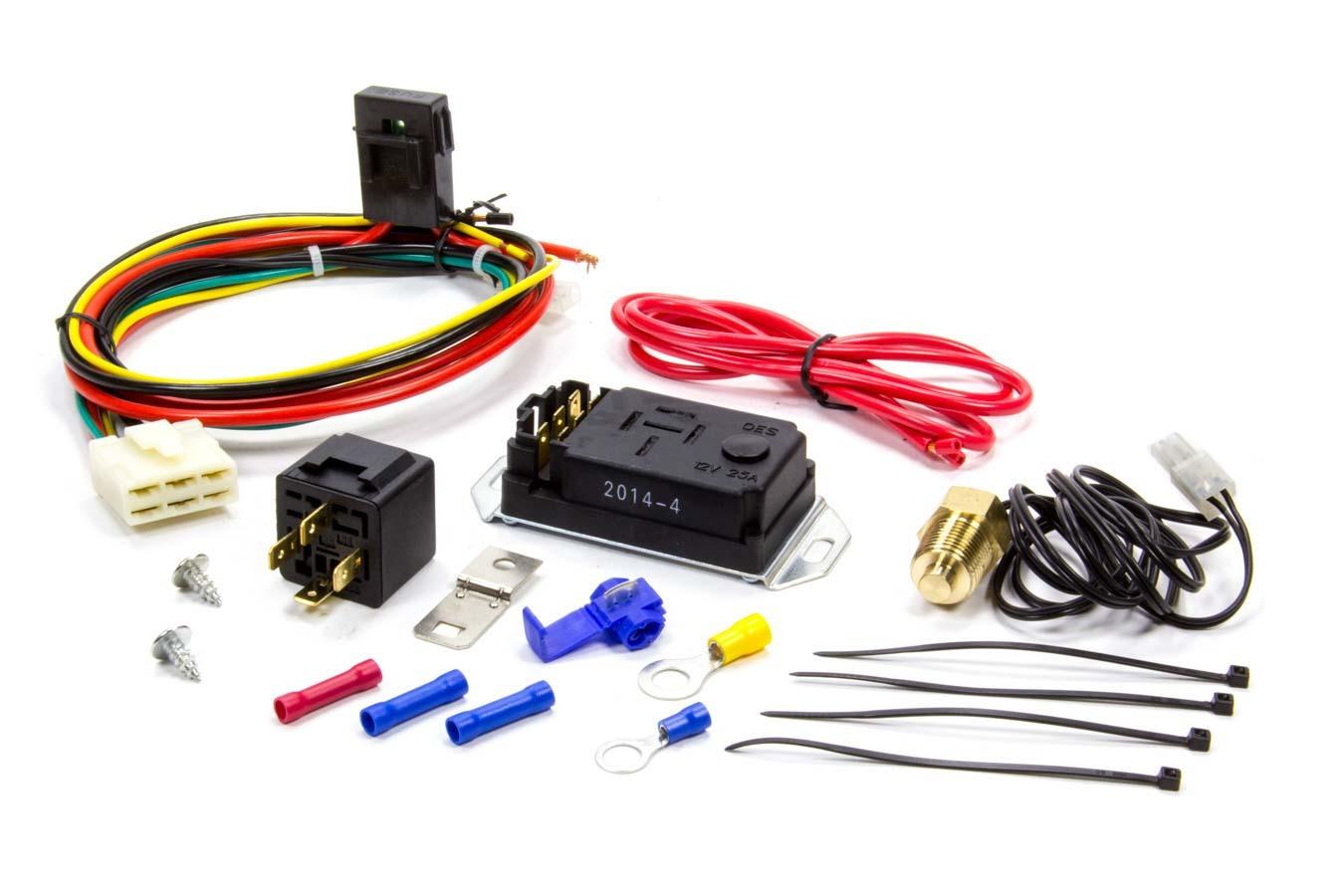 Proform 69598 Fan Controller, Adjustable, 150-240 Degree F Activation Range, 3/8 in NPT Temperature Sensor, 30 amp Relay, Each