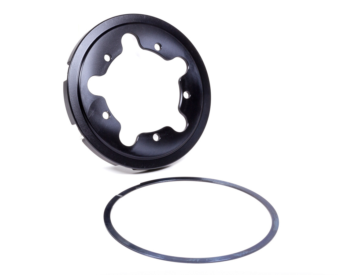 Performance Friction 195-108-080-15 Brake Rotor Hat, V3, Snap Ring Attachment, 5 x 5.00 in Wheel Bolt Pattern, Aluminum, Black, Each