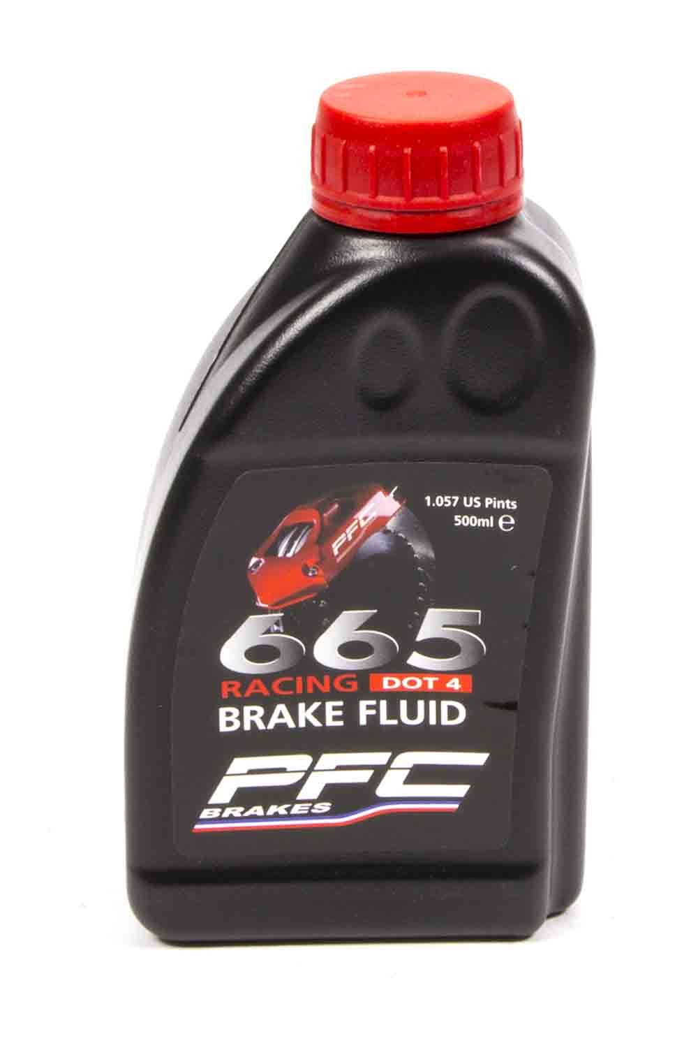 Performance Friction 25-0037 Brake Fluid, RH665, DOT 4, 500 ml, Each