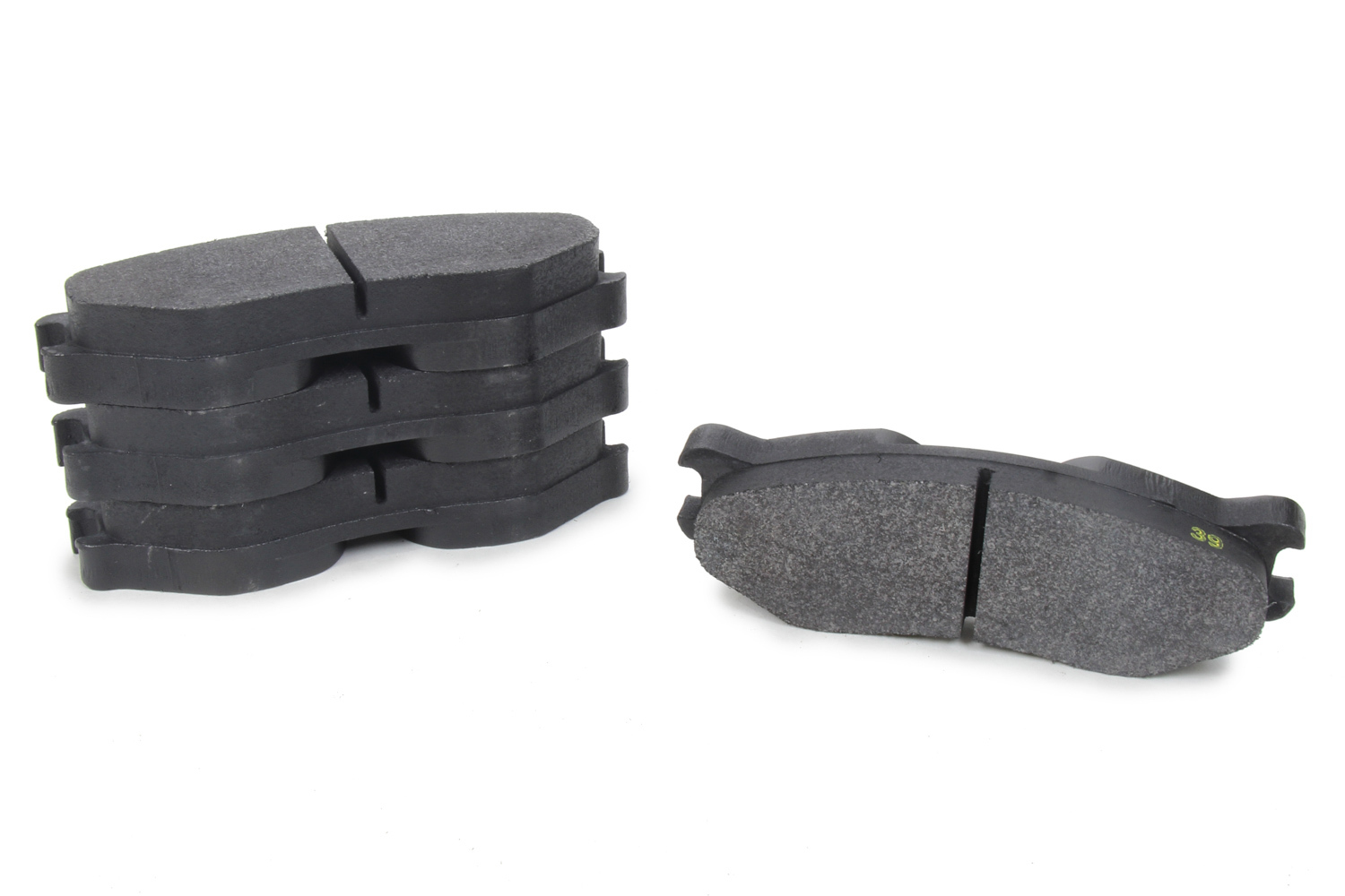 Performance Friction 7905-39-25-44 Brake Pads, Compound 39, High Temperature, 20 mm Thick, ZR94 Calipers, Set of 4