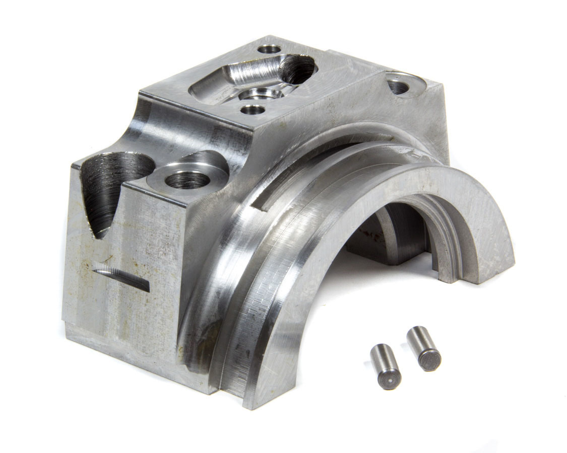 Pro-Gram Engineering SB350RWS Main Cap, 2-Bolt, Rear, Wet Sump, Billet Steel, 350 Journal, Small Block Chevy, Each