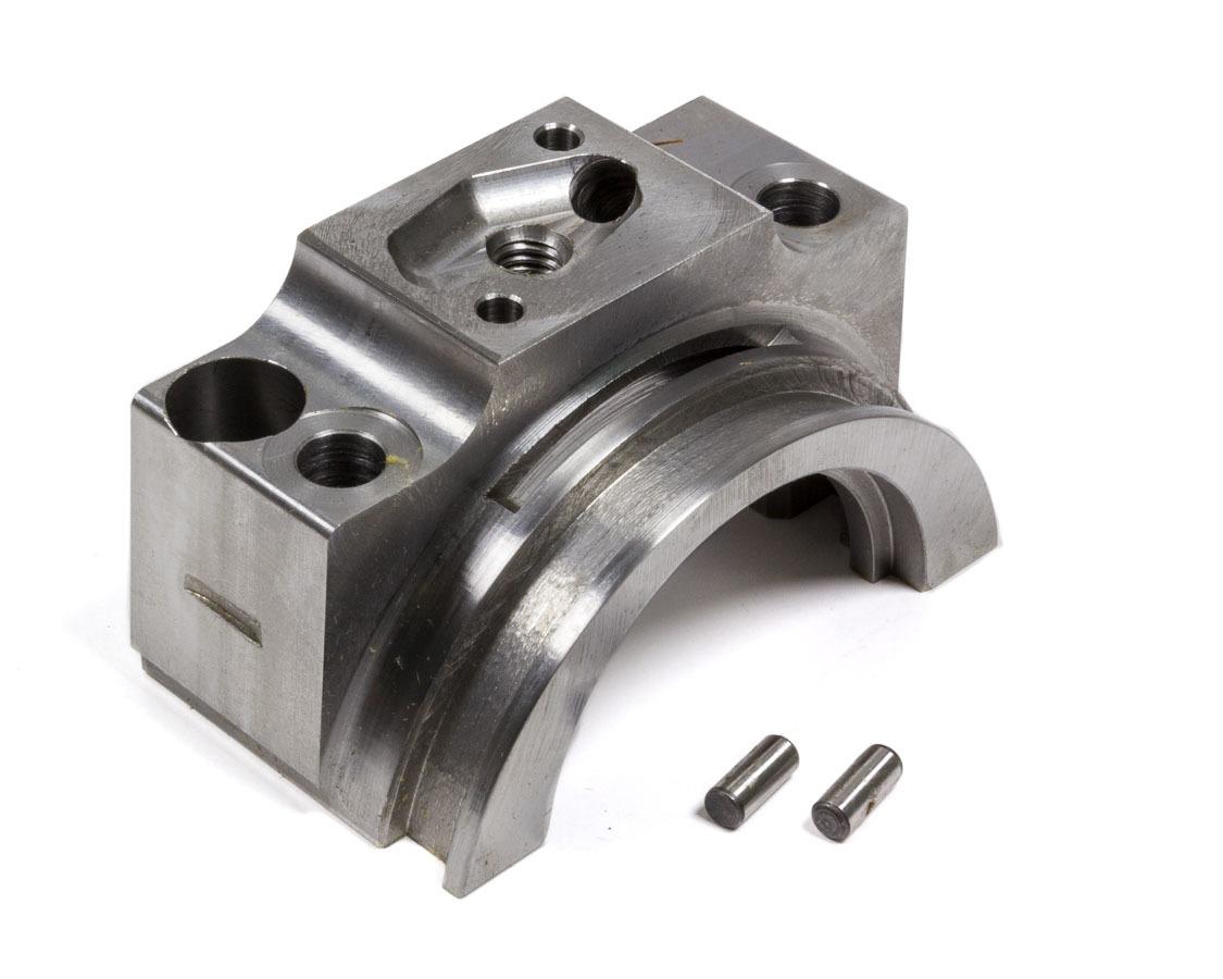 Pro-Gram Engineering SB400RWS Main Cap, 4-Bolt, Rear, Went Sump, Splayed Bolts, Billet Steel, 400 Journal, Small Block Chevy, Each