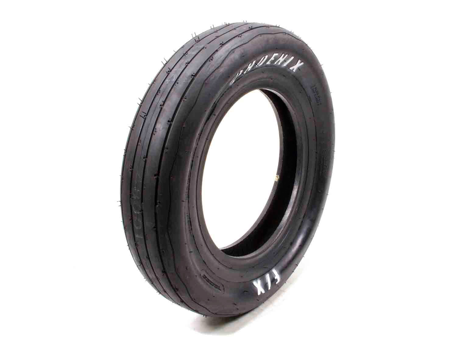 Phoenix Racing Tires PH180 Tire, Drag FX Front, 26.0 x 4.5-15, Bias Ply, DE Compound, White Letter Sidewall, Each