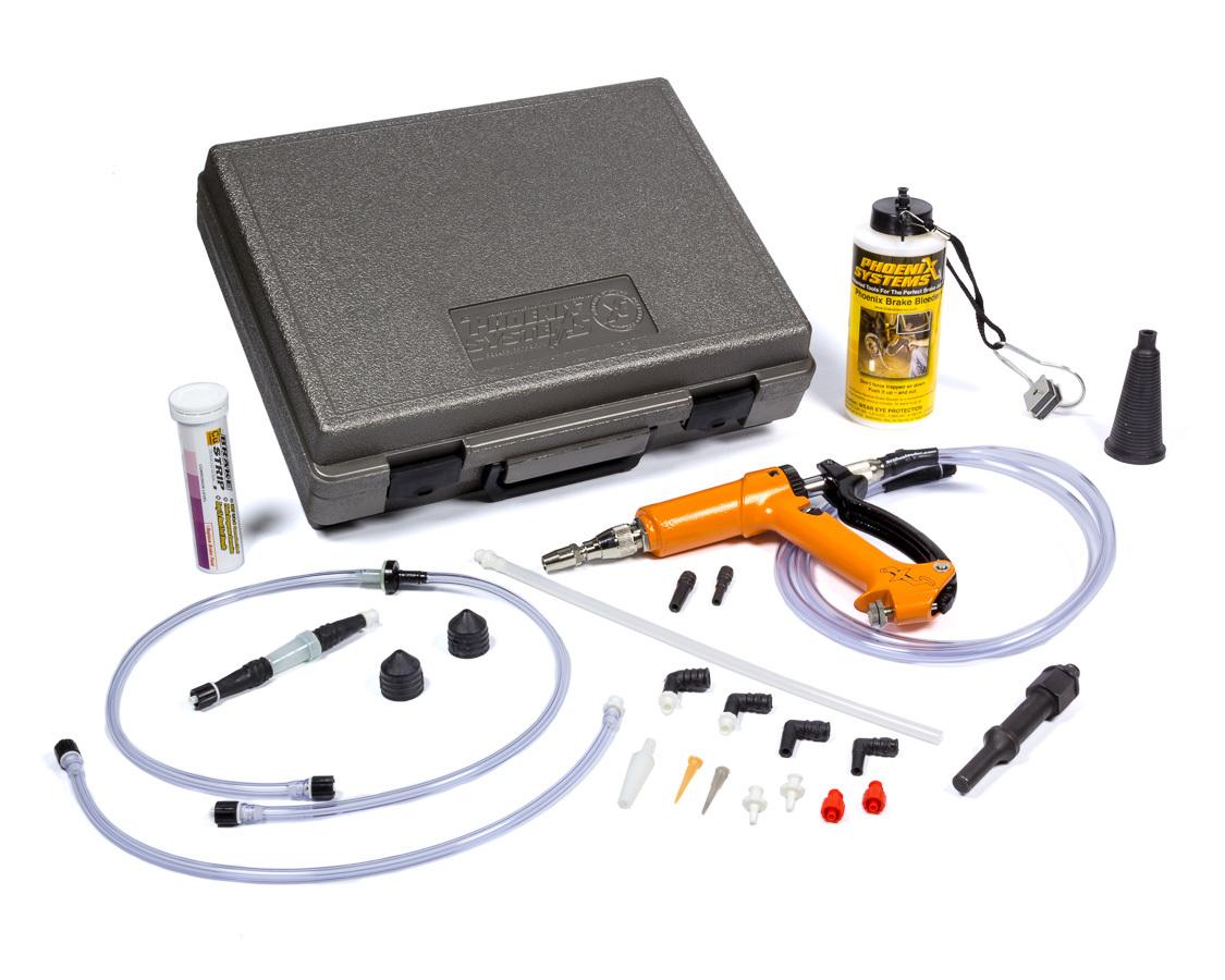 Phoenix Systems 2001HD-B Brake Bleeder, MaxProHD Secret Weapon, Case / Catch Can / Fittings / Hoses / Pump, Kit