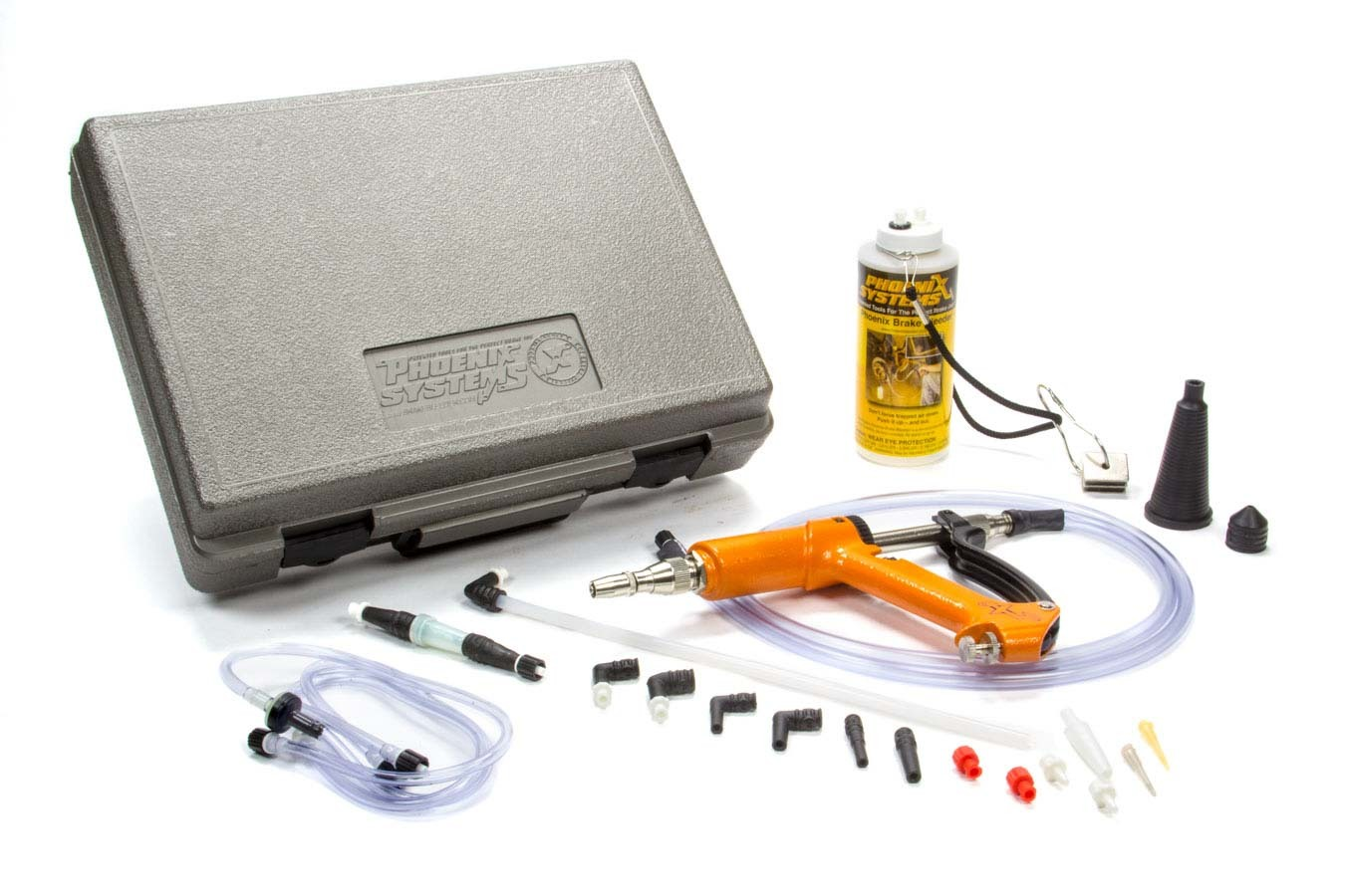 Phoenix Systems 2002HD-B Brake Bleeder, MaxProHD, Case / Catch Can / Fittings / Hoses / Pump, Kit