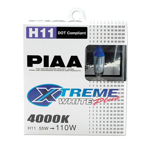 H11 110W Xtreme White Bulb Twin Pack