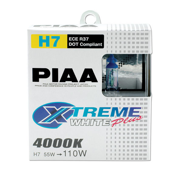 H7 110w Xtreme White Bulb Twin Pack