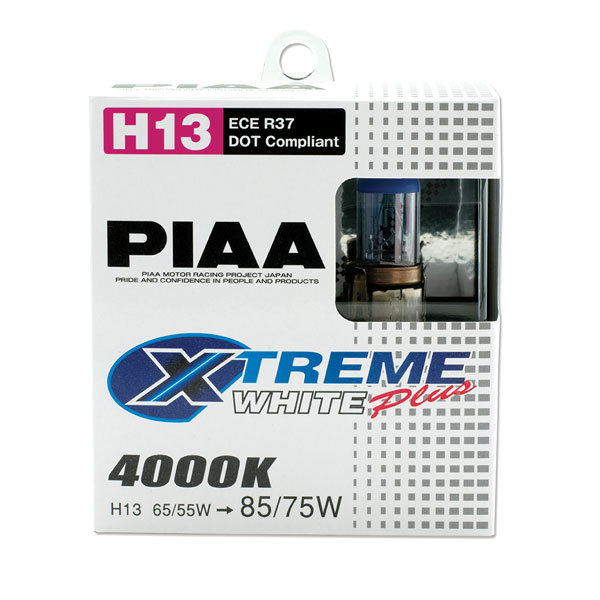 Xtreme White Bulbs H13 Pair